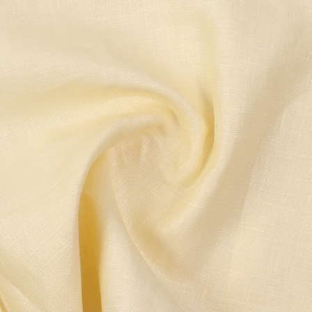 Linen Shirt (1.6 Meter) Fabric- Cream Plain Indian-90040