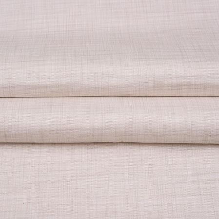 Men Unstitched Trouser (1.2 MTR)-Cream Plain Cotton Wool Fabric-42170