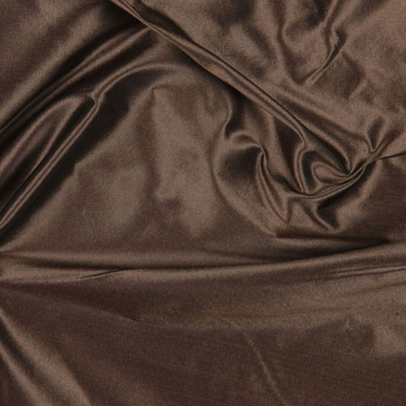 Dark Chocolate Silk Taffeta Fabric-6567