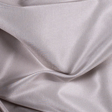Dark Grey Silk Taffeta Fabric-6537