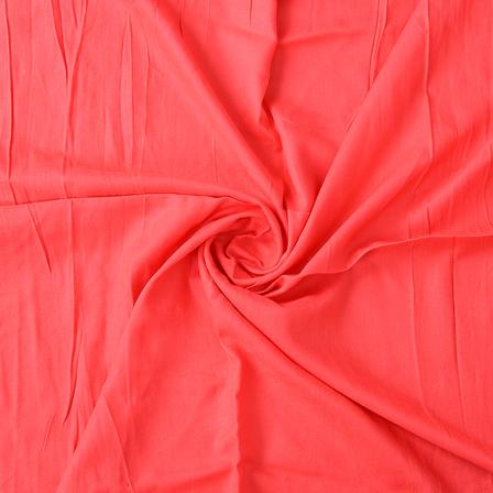 Dark Pink Handloom Rayon Fabric-40197