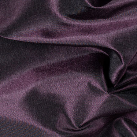 Dark Purple Silk Taffeta Fabric-6543