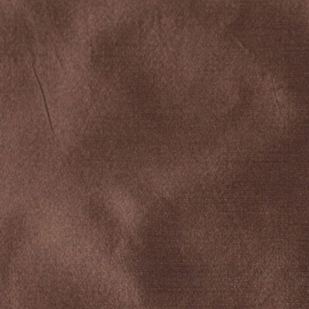 Deep Brown Silk Taffeta Fabric-6529