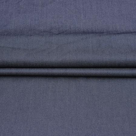 Men Unstitched Trouser (1.3 MTR)-Denim Plain Cotton Fabric-42056