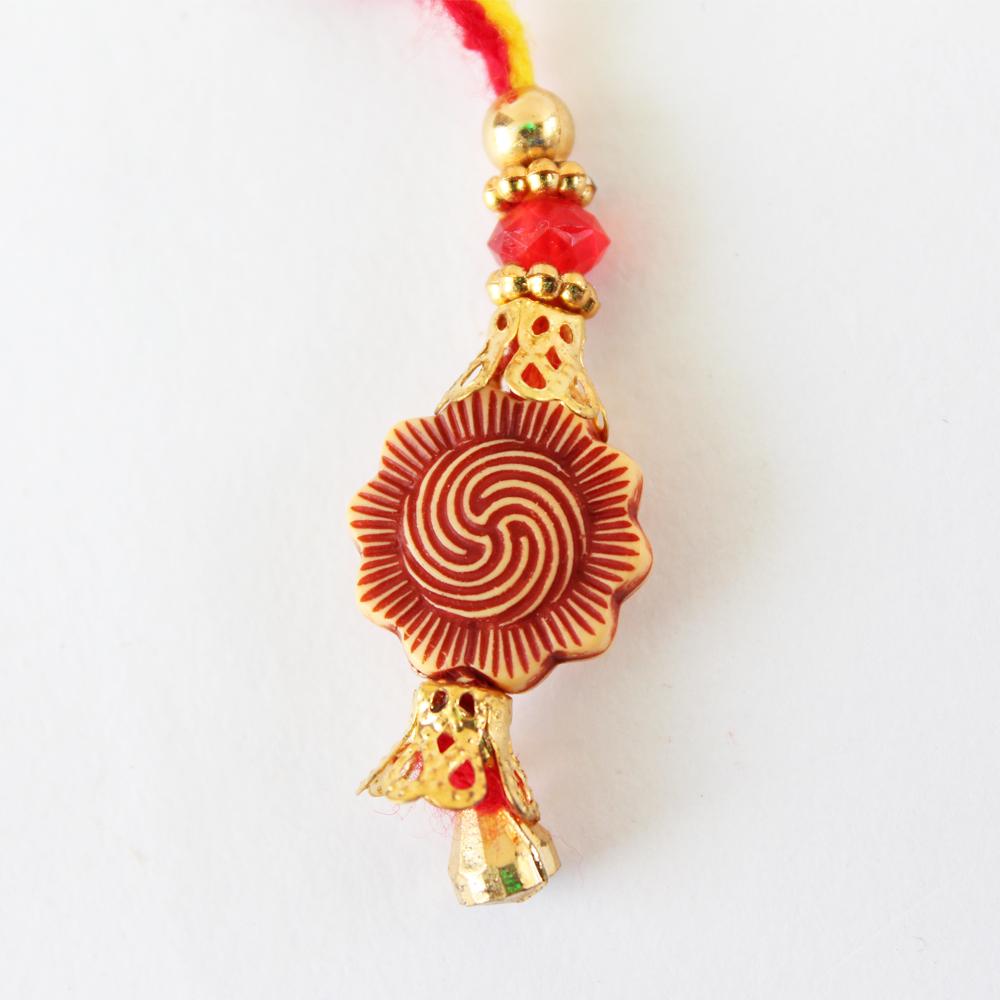 Lumba Rakhi Designer Handmade-GFT-ANL-LUM-024