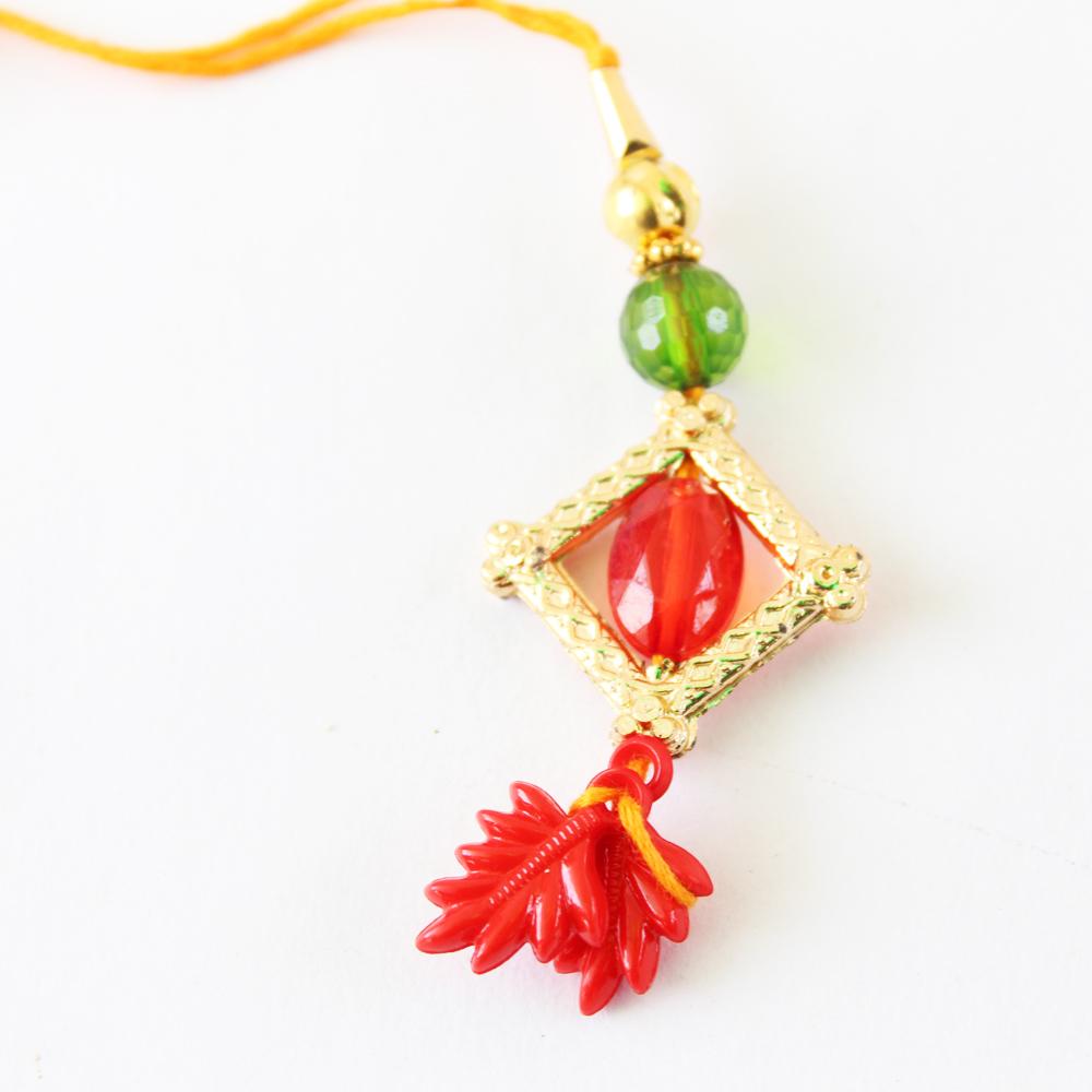 Lumba Rakhi Designer Handmade-GFT-ANL-LUM-025