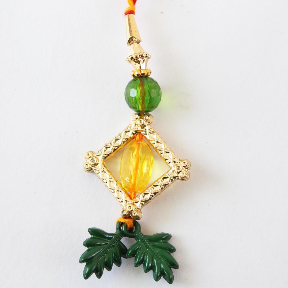 Lumba Rakhi Designer Handmade-GFT-ANL-LUM-029