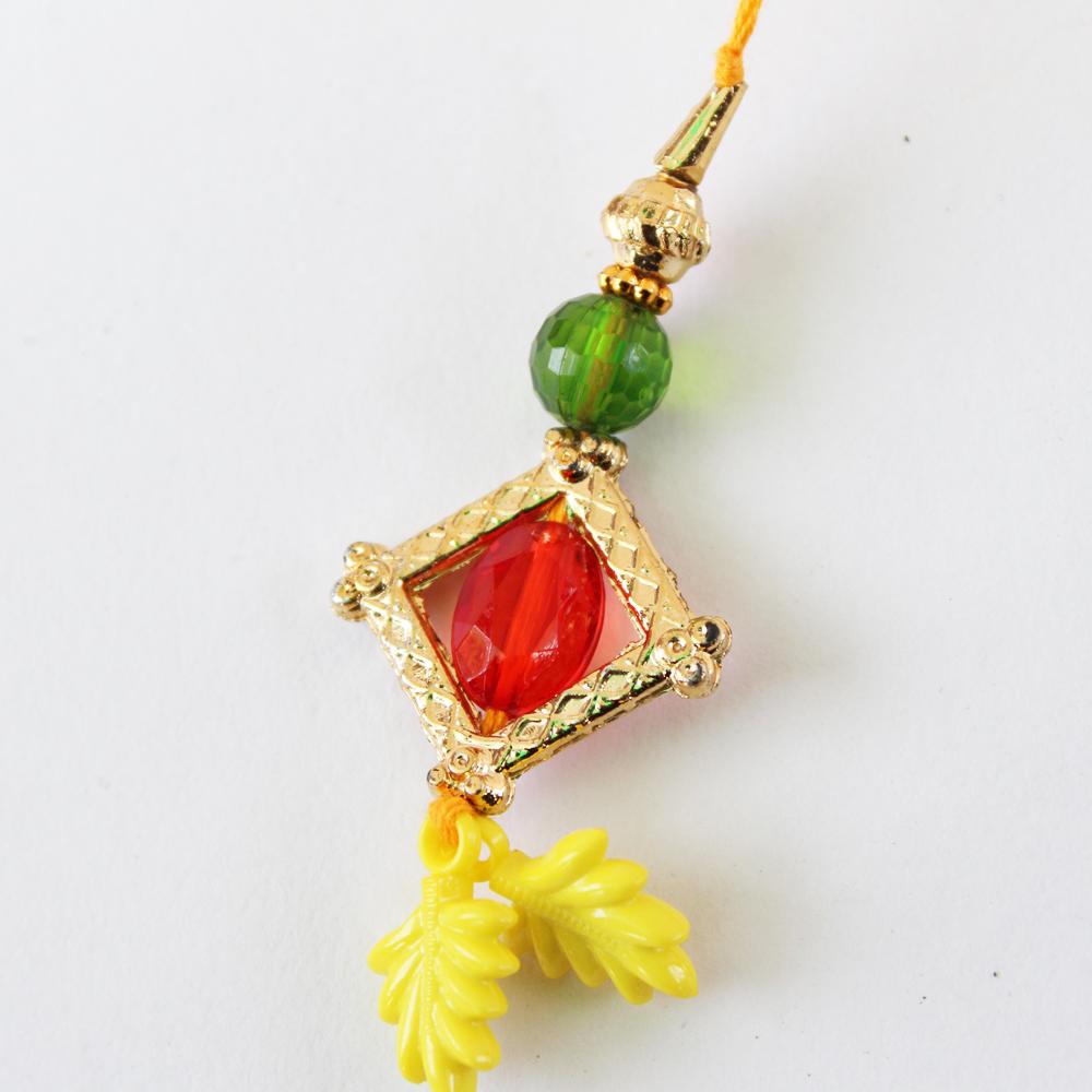 Lumba Rakhi Designer Handmade-GFT-ANL-LUM-030