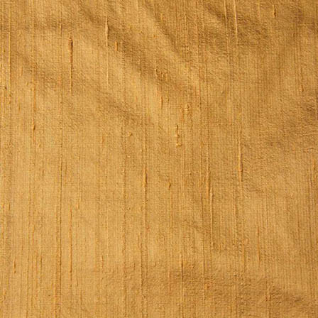 Golden Dupion Silk Fabric-4859