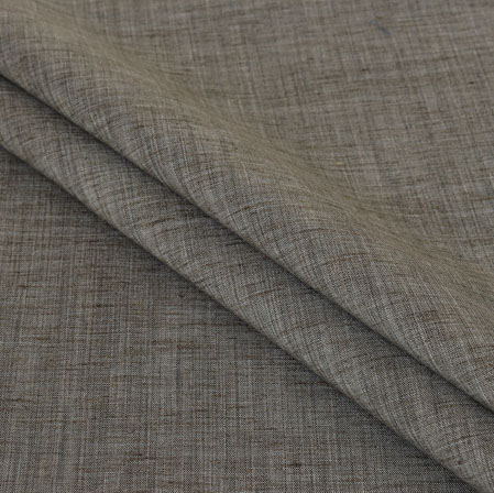 Gray Plain Handloom Cotton Fabric-40977
