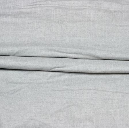 Gray Plain Handloom Cotton Fabric-42563