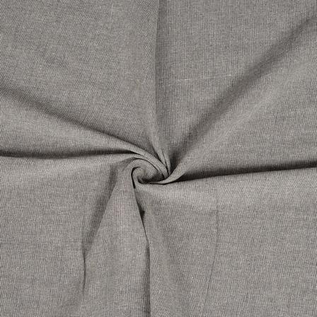 Gray Cotton Handloom Khadi Fabric-40228