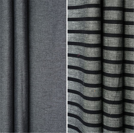 Combo Set Shirt and Trouser-Gray Gray and Black-42262