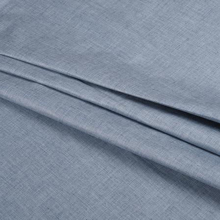 Khadi Shirt (2.25 Meter) Fabric-Gray Handloom Cotton -140364