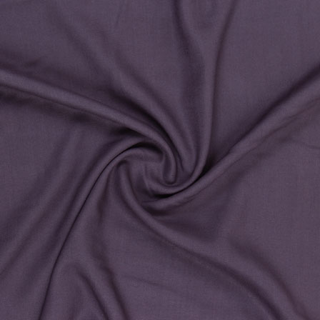 Gray Plain Khadi Rayon Fabric-40704