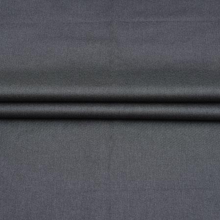 Men Unstitched Trouser (1.3 MTR)-Gray Plain Cotton Fabric-42053