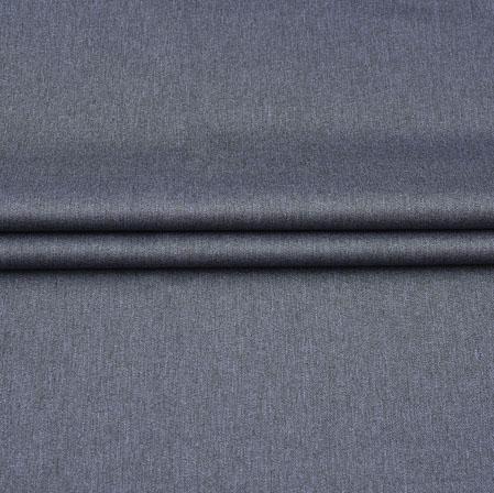 Men Unstitched Trouser (1.3 MTR)-Gray Plain Cotton Fabric-42054