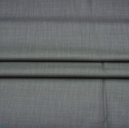 Men Unstitched Trouser (1.2 MTR)-Gray Plain Cotton Wool Fabric-42161