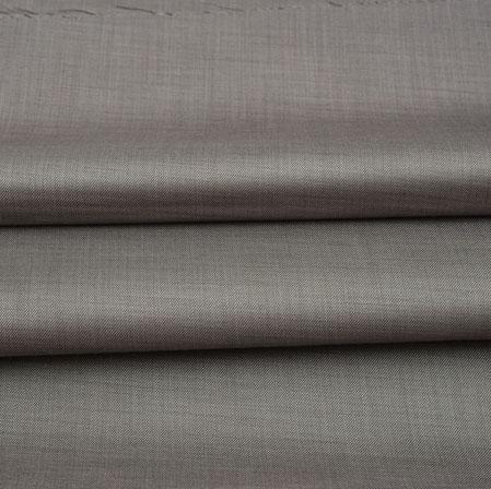 Men Unstitched Trouser (1.2 MTR)-Gray Plain Cotton Wool Fabric-42163