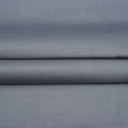 Men Unstitched Trouser (1.2 MTR)-Gray Plain Cotton Wool Fabric-42164