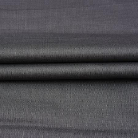 Men Unstitched Trouser (1.2 MTR)-Gray Plain Cotton Wool Fabric-42169