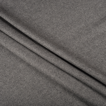 Pure Wool Blazer Fabric (2 MTR)  - Gray Tweed Wool-40304