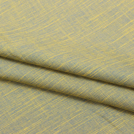 Gray Two tone Linen Cotton Fabric-40641