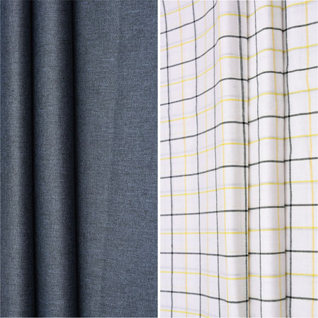 Combo Set Shirt and Trouser-Gray White and Black-42078