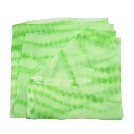 Green Chiffon Georgette Fabric-29028