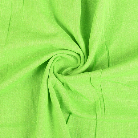 Green Cotton Handloom Fabric-40293