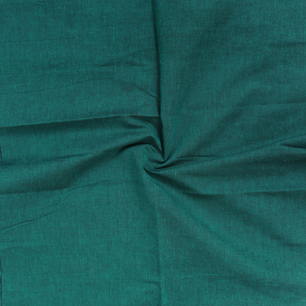 Green Cotton Samray Handloom Fabric-40060