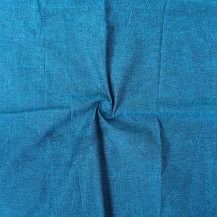 Green Cotton Samray Handloom Fabric-40071