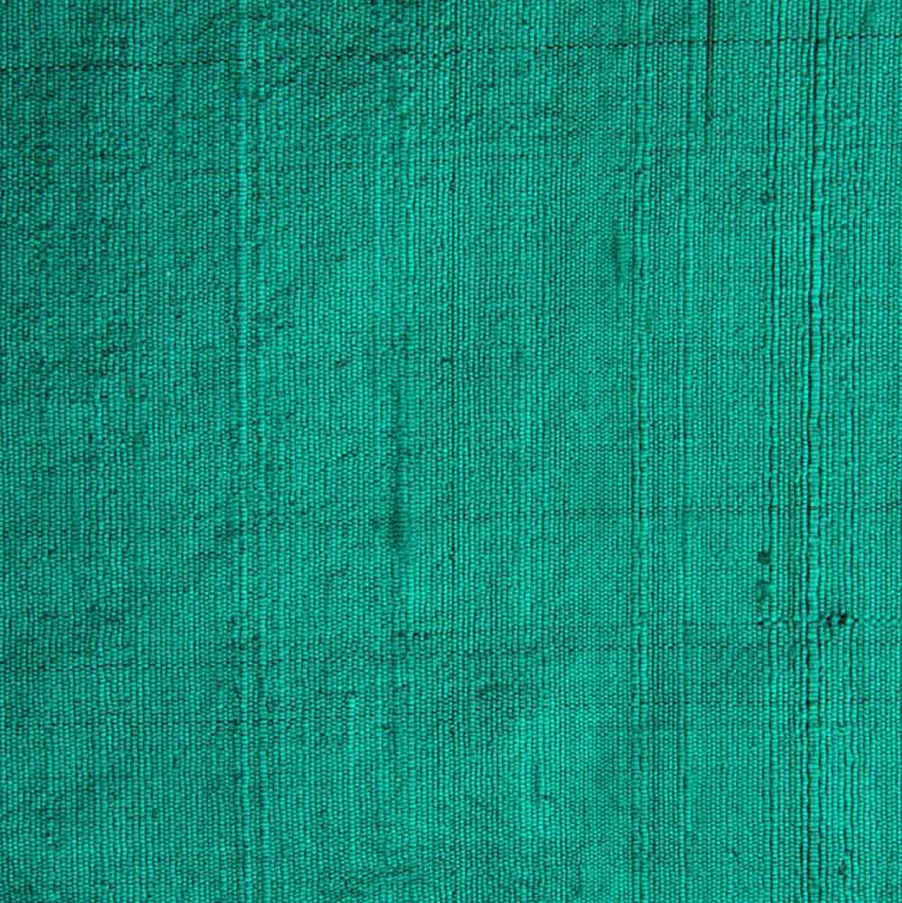 Green Dupioni Silk Fabric