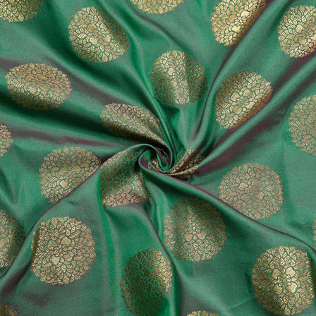 /home/customer/www/fabartcraft.com/public_html/uploadshttps://www.shopolics.com/uploads/images/medium/Green-Golden-Circle-Brocade-Silk-Fabric-12045.jpg