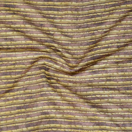 Green Gray ikat two tone Rayon Fabric-15182