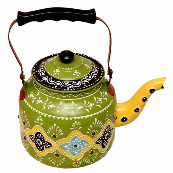 Green Iron Kettle