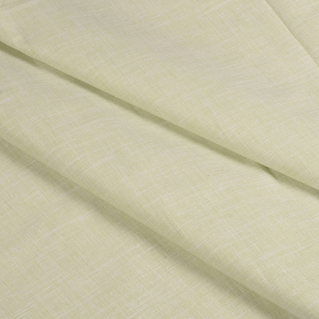 Green Cotton Linen Shirt Fabric-90052