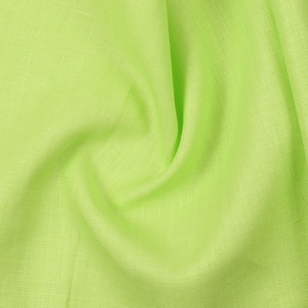 Green Plain Indian Linen Fabric-SD90038