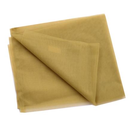 Green Plain Indian Net Fabric-60185