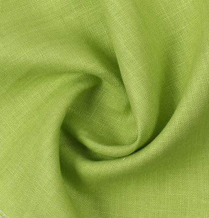 Linen Shirt (1.6 Meter) Fabric- Green Plain-90032