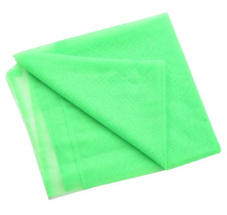 Green Plain Net Indian Fabric-60186