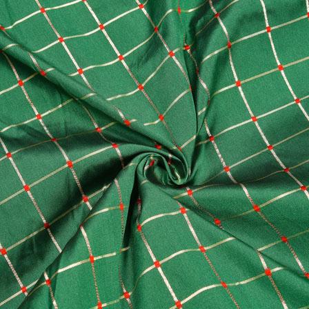 /home/customer/www/fabartcraft.com/public_html/uploadshttps://www.shopolics.com/uploads/images/medium/Green-Red-and-Golden-Checks-Zari-Taffeta-Silk-Fabric-12318.jpg