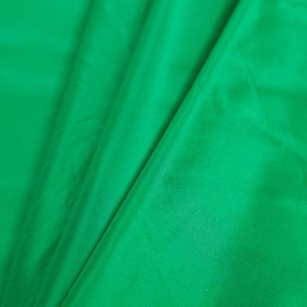 Green Silk Taffeta Fabric-6519