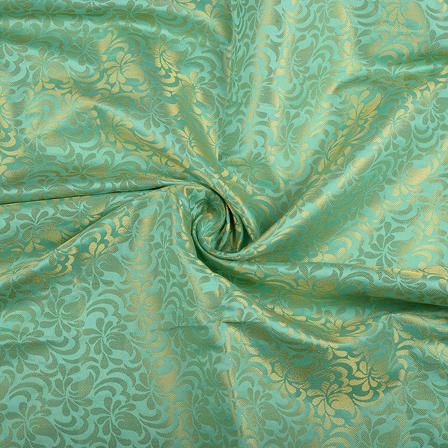 /home/customer/www/fabartcraft.com/public_html/uploadshttps://www.shopolics.com/uploads/images/medium/Green-and-Golden-Floral-Brocade-Silk-Fabric-8561.jpg