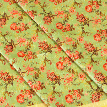 Green-and-Pink-Floral-Pattern-Digital-Print-Silk-Fabric-24048
