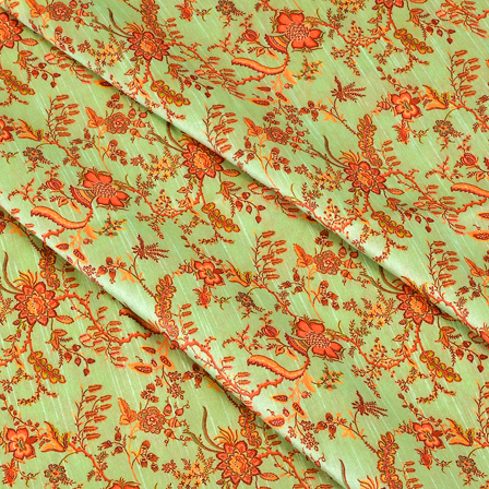 Green-and-Pink-Flower-Design-Digital-Print-Silk-Fabric-24052