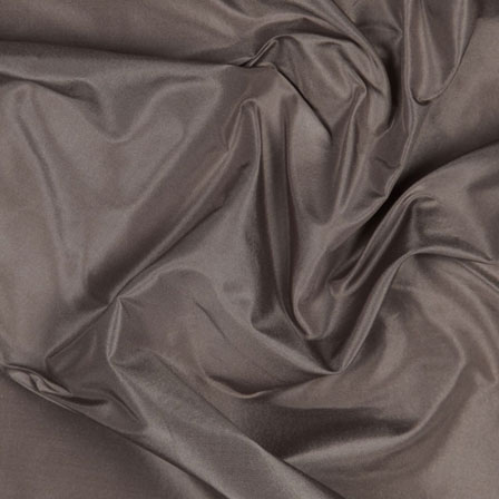 Grey Silk Taffeta Fabric-6566