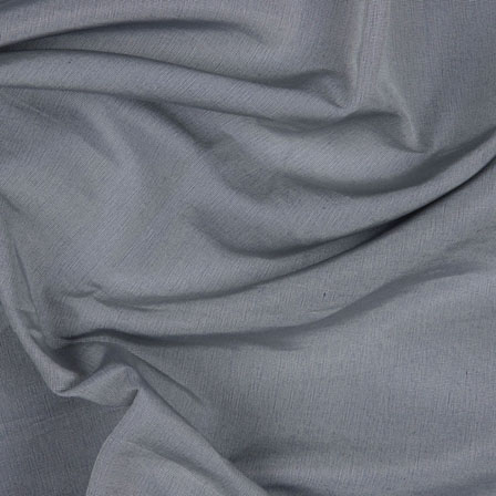 Grey Silk Taffeta Fabric-6568