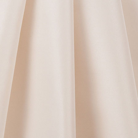 Ivory Silk Taffeta Fabric-6517