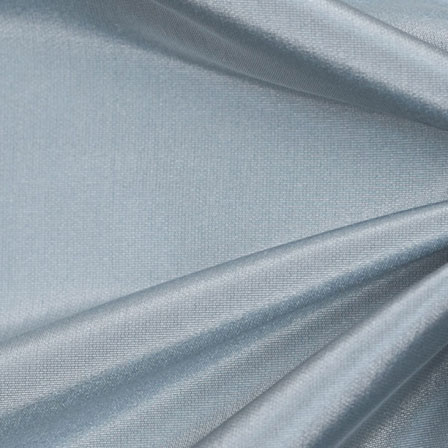 Light Blue Silk Taffeta Fabric-6533